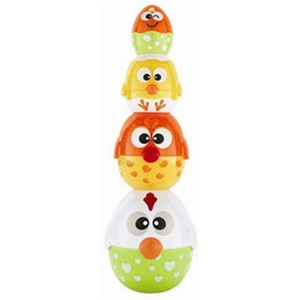 Happykid Chicken & Egg Stack Toy by Happykid