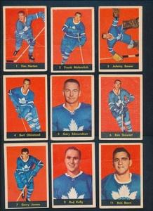 1960 Parkhurst Hockey G/VG avg cond complete set of 61 cards 37487