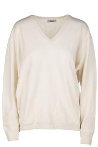 Acne Studios women's jumper sweater v-neck beige