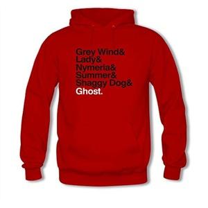 The Direwolves For women Printed Sweatshirt Pullover Hoody