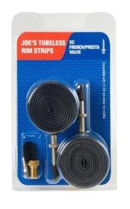 Joes XC Mountain Bike FV Rim Strips - Grey, 17-19 mm by Joe's