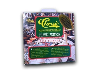1989 Classic Travel Edition MLB Baseball Trivia Board Game by Classic