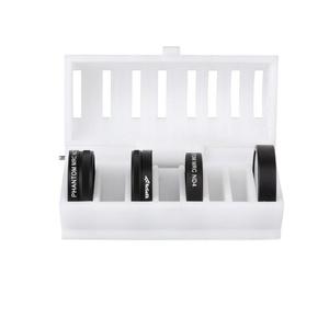RCstyle 3D Print Camera Lens Filter Case Storage Box for DJI Phantom 3, Phantom 4 Quadcopter Filters