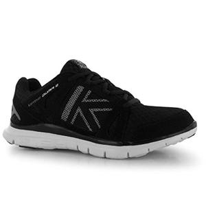 Mens Karrimor Duma 2 Running Shoes Black Silver (UK 10 / US 10.5)