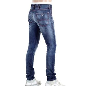 Armani Extra Slim J35 Washed with heavy fading Denim Jeans AJM5972