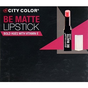 6PC City Color Matte Lipstick Bold Hues With Vitamin E set of 6 color #L0021B by city color