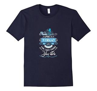 Men's I am A Virgo t - shirt  I never Said I Was Per 2XL Navy