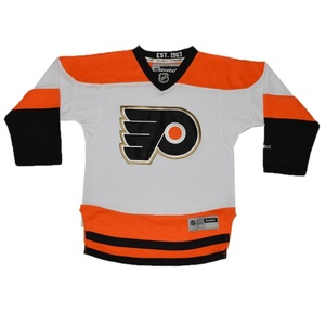 Boys NHL Philadelphia Flyers Hockey Jersey / Sweater with Embroidered Logo L/XL White