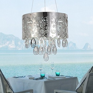 COMEON LIGHT Simple and elegant crystal lamps 5 bedroom living room modern crystal chandelier crystal chandelier crystal chandelier restaurant