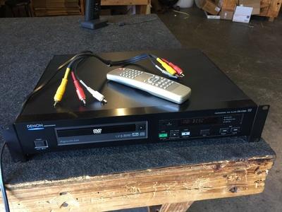 Denon DN-V300 RS232 DVD Player MP3 Progressive Scan w/ Remote HDMI Cables