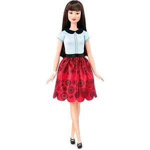 Barbie Fashionistas Doll 19, Ruby Red Floral, Original