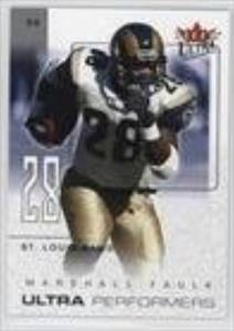 Marshall Faulk (Football Card) 2004 Fleer Ultra - Ultra Performers #4UP
