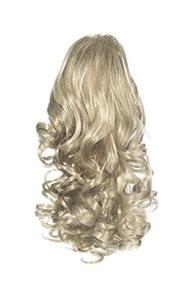 Love Hair Extensions Curly Crocodile Clip Synthetic Hair Ponytail Colour 18/22 Medium Ash Brown/beach Blonde 12 -inch by Love Hair