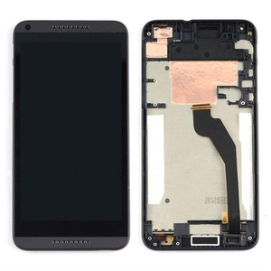 New Black LCD Display+Touch Screen Digitizer Assembly+Frame HTC Desire 816H