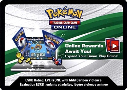 Pokemon EX Power Trio Tin Charizard Promo Code Card by Pokemon Darkrai Tin