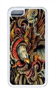 Battle Royale Custom iPhone 5C Case Cover TPU White