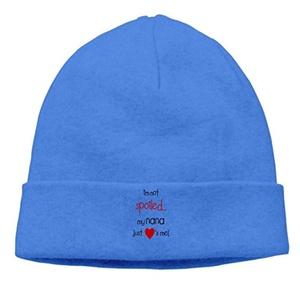 Style Unisex I'm Not Spoiled My Nana Just Loves Me! Cap Skull Beanies Hat