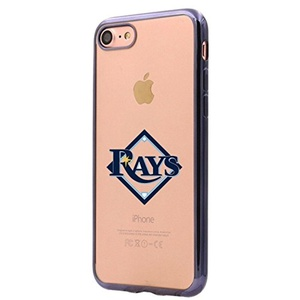 Tampa Bay Rays iPhone 6s Plus Case,Electroplate Soft TPU Back Cover for iPhone 6 Plus / iPhone 6s Plus Black