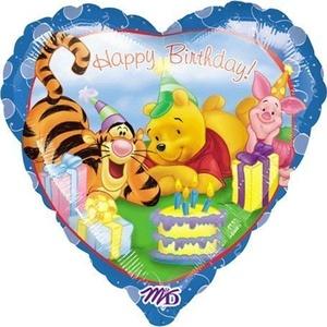 18 Winnie The Pooh Happy Birthday Balloon by M-D