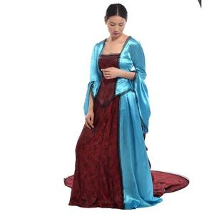 Blessume Renaissance Victorian Dress Gown