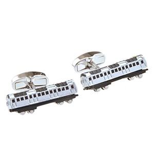 Silver Cufflinks French Train Mens Cuff Bus Cuff Link Wedding Business