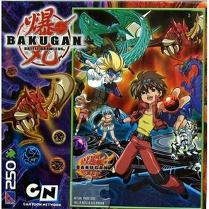 Bakugan Battle Brawlers 250-Piece Puzzle by Other Properties