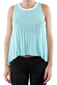 Lily White Juniors Sporty Tank