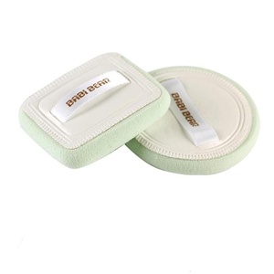 Powder Puff Sets, Franterd Soft Cleansing Makeup Puff, Foundation Facial Cosmetic Sponges (1, White, 1)