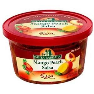 Santa Barbara Mango Peach Salsa, 14 Ounce -- 6 per case.