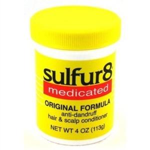 Sulfur-8 Original Hair & Scalp Conditioner 120 ml Jar (2 Pack) by Sulfur 8