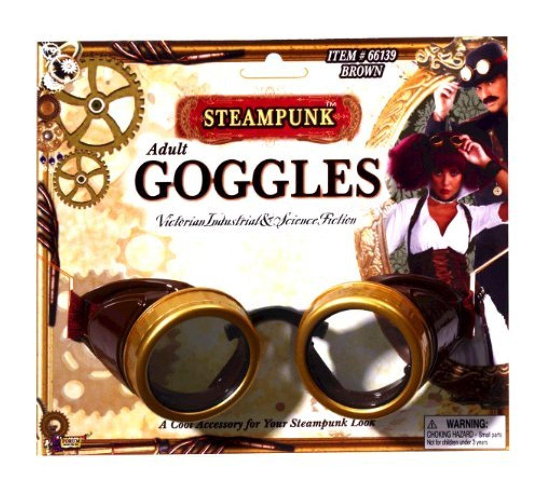 Steampunk Brown Goggles by Steampunk