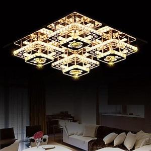 WCG Flush Mounted/LED Crystal Light/Modern/Contemporary Living Room/Bedroom/Study Room/Office/Kids Room/Entry/Hallway