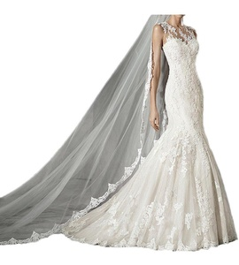 Vienna Bride Charming Sweetheart Mermaid Wedding Dress Lace Long Bridal Gown-26W-Ivory2