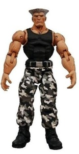 Guile - Street Fighter 4 Survival Mode - Neca by Street Fighter