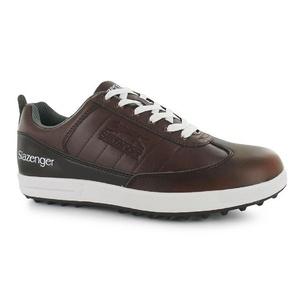 Mens Slazenger Casual Golf Shoes Brown (UK 11 / US 11.5)