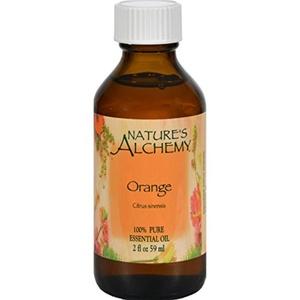 2Pack! Nature's Alchemy 100% Pure Essential Oil Orange - 2 fl oz