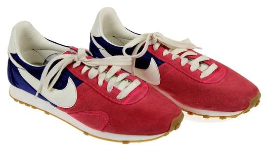 J Crew Women's Nike Vintage Collection Pre-Montreal Racer Sneakers Sz 9.5 B0114