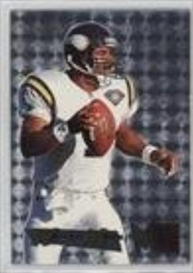 Warren Moon (Football Card) 1995 Fleer Metal - Silver Flasher #29