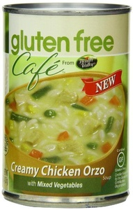 Gluten Free Cafe Creamy Chicken Orzo Soup, 15 Ounce (Pack of 12) by Gluten Free Grocery