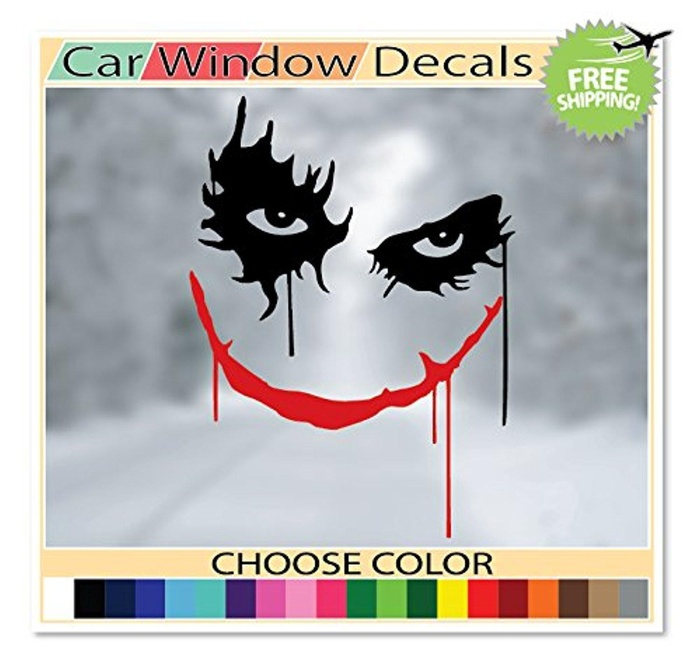 online store osmdecals 2 colors joker decal sticker batman dark knight why so serious jdm. Black Bedroom Furniture Sets. Home Design Ideas