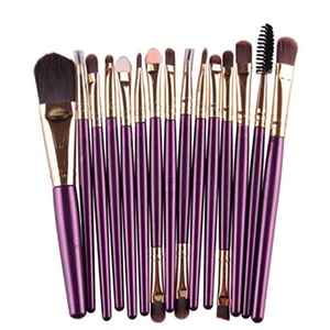 Best Deal New Good Quality Professional 15 pcs/Sets Eye Shadow Foundation Eyebrow Lip Brush Makeup Brushes Comestic Tool 1 Set