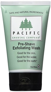 Pacific Shaving Company Pre-Shave Exfoliating Wash, 3 Ounce by Pacific Shaving Company