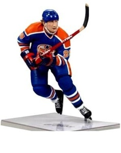 Sportspicks: Nhl Hockey Mcfarlane Toys Nhl Sports Picks Legends Series 8 Action Figure Wayne Gretzky (Edmonton Oilers) Blue Jersey by SportsPicks: NHL Hockey