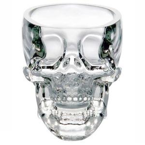 1pc Crystal Skull Head Vodka Whiskey Shot Glass Cup Drinking Ware Home Bar Cup Mug