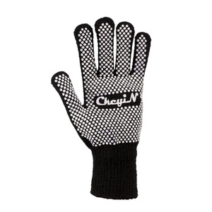 Heat Resistant Gloves,CkeyiN Professional Heat Proof Protection Glove for Curling, Flat Iron and Curling Wand Straightener Suitable for Left and Right Hands-2 Pieces