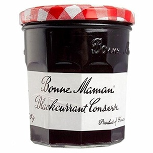 Bonne Maman Blackcurrant Conserve 370g (Pack of 2)