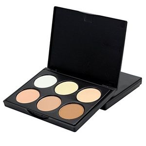 EFINNY Face Powder Contour Make Up Studio Fix Bronzer Shading Mineral Pressed Powder Palette A01