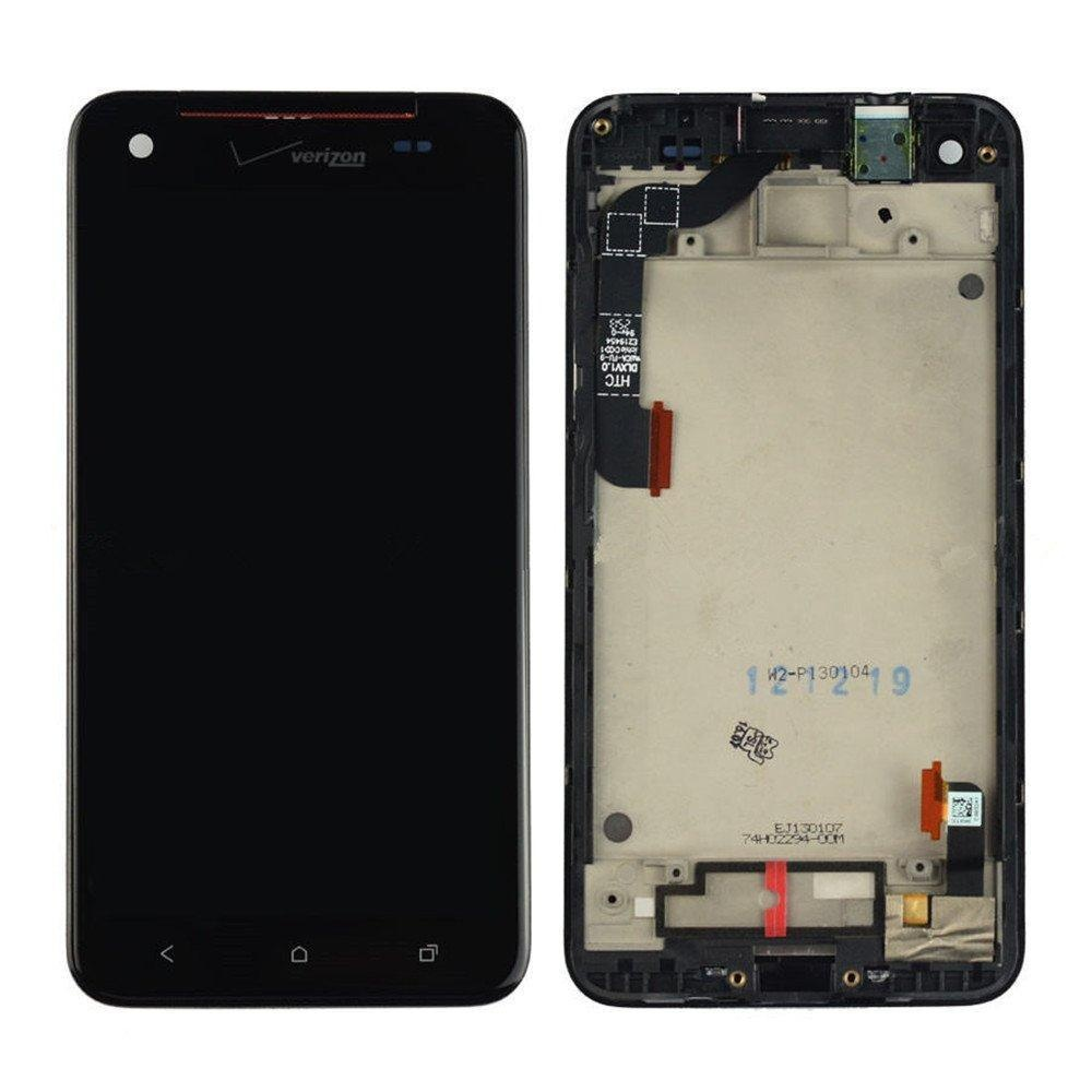 NEW HTC Droid DNA LCD Display+Touch Digitizer Screen Assembly Frame