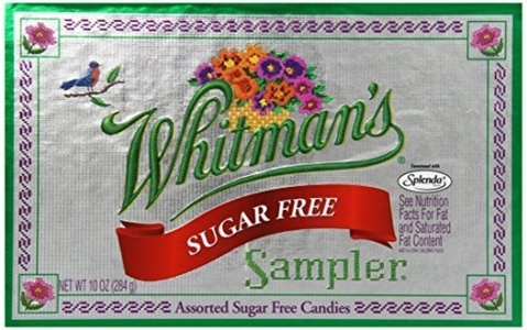 Whitman's Sugar Free Sampler Assorted Chocolate, 10-Ounce Boxes (Pack of 3) by Whitman's