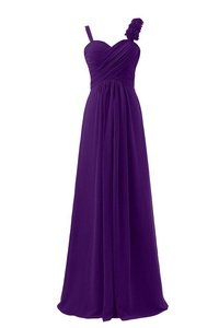 Winnie Bride Women's Straps Bridesmaid Wedding Guests Dresses Long Evening Gown-10-Regency